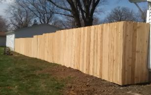 wood privacy fence decatur il